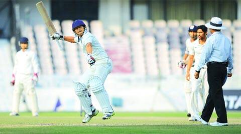 This was Ganesh Satish's first hundred of the season. Overall, Karnataka batsmen have scored 14 centuries in this edition of the Ranji Trophy