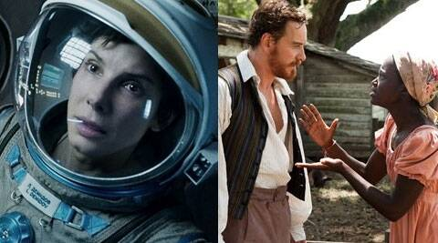 Awards for 'Gravity' included Best Actress for Sandra Bullock, Best Director for Alfonso Cuaron and Best Sci-Fi movie. (AP)