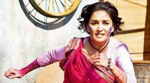 Madhuri Dixit trained in rare martial art forms for the action scenes.