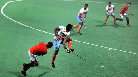For a team that last played at Hockey Asia Cup in August last year, there was little rustiness (IE Photo Ravi Kanojia)
