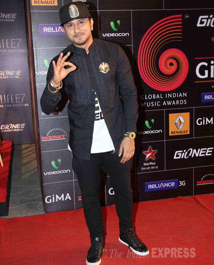 Rapper Honey Singh looked super-cool as usual! (Photo: Varinder Chawla)