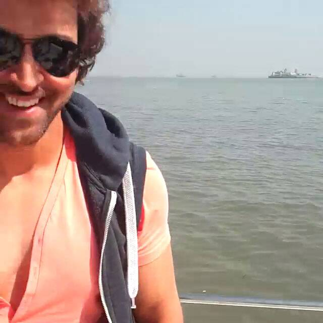 Hrithik Roshan, who recently split from wife Sussanne Khan, seems to be in high spirits as he partied with the children. (Instagram)