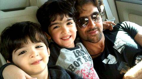 Hrithik Roshan, who turned 40 today, will celebrate his birthday with his children and family.