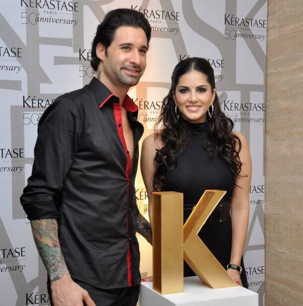 Sunny Leone parties with Farhan Akhtar's wife