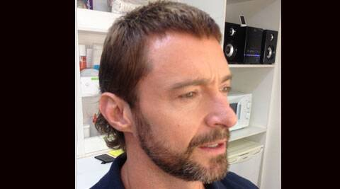 The 'X-Men' star will sport a mullet for the science fiction blockbuster. (Instagram)