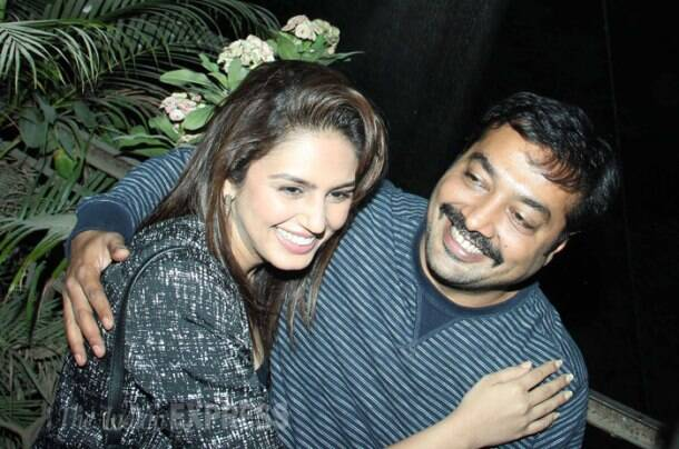Gotcha! Huma Qureshi, Anurag Kashyap's movie date