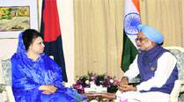 Manmohan Singh hosted an exclusive lunch for Khaleda Zia when she visted in 2012