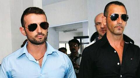 Italy's foreign minister said that the country's main priority was to bring the two marines home.
