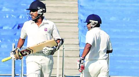Harshad Khadiwale (L) and Kedar Jadhav are No.1 and 2 on the run-scoring charts