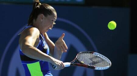 Fourth seed Jelena Jankovic lost 6-4 6-2 to Ekaterina Makarova (AP)