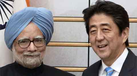 As Japan maintains its naval presence in the Indian Ocean and India bolsters its engagement in the western Pacific, Abe's upcoming visit is an important step. IE