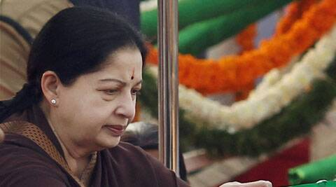 The bench issued notice to Jayalalithaa on a separate petition by a DMK leader seeking impleadment as a party to the plea filed by the Tamil Nadu chief minister before the apex court.(Source: PTI)