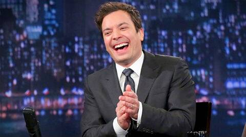 Jimmy Fallon: You have a baby, which you've been wanting for a long time. You felt very lucky that it happened at all. (AP Photo)