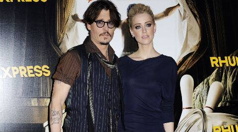 Johnny Depp met Amber Heard while working on 'Rum Diary'. (Reuters)