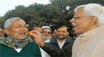 In happier times: Nitish Kumar and Shivanand Tiwari