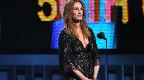 """I make one film per year and that's a good balance. My older kids have just turned nine and my son is six; they still need me,"" says Julia Roberts."
