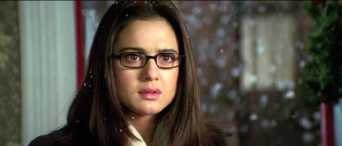 Preity Zinta was awarded with the Filmfare Best actress award in the year 2003 for playing Naina Kapur in 'Kal Ho Naa Ho' featuring Shah Rukh Khan and Saif Ali Khan too. Here she was a modern, strong headed NRI living in United States of America with her family.