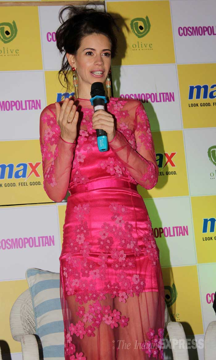 Kalki Koechlin shares some fashion tips! (Photo: Varinder Chawla)