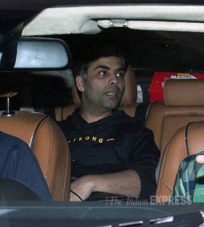 Ranbir Kapoor was accompanied by none other than candid talk show host and filmmaker, Karan Johar. (Photo: Varinder Chawla)
