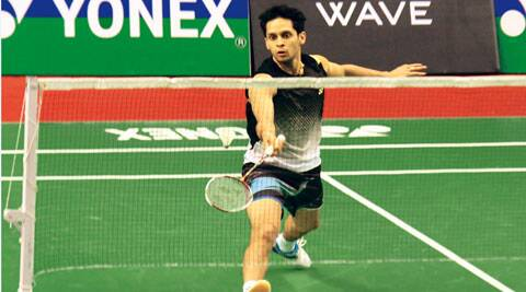 The top seed lost 21-16, 21-12 to Zulkiffli in the pre-quarterfinals of the Syed Modi Internatioanl India Grand Prix Gold in Lucknow (IE Photo Pramod Singh)