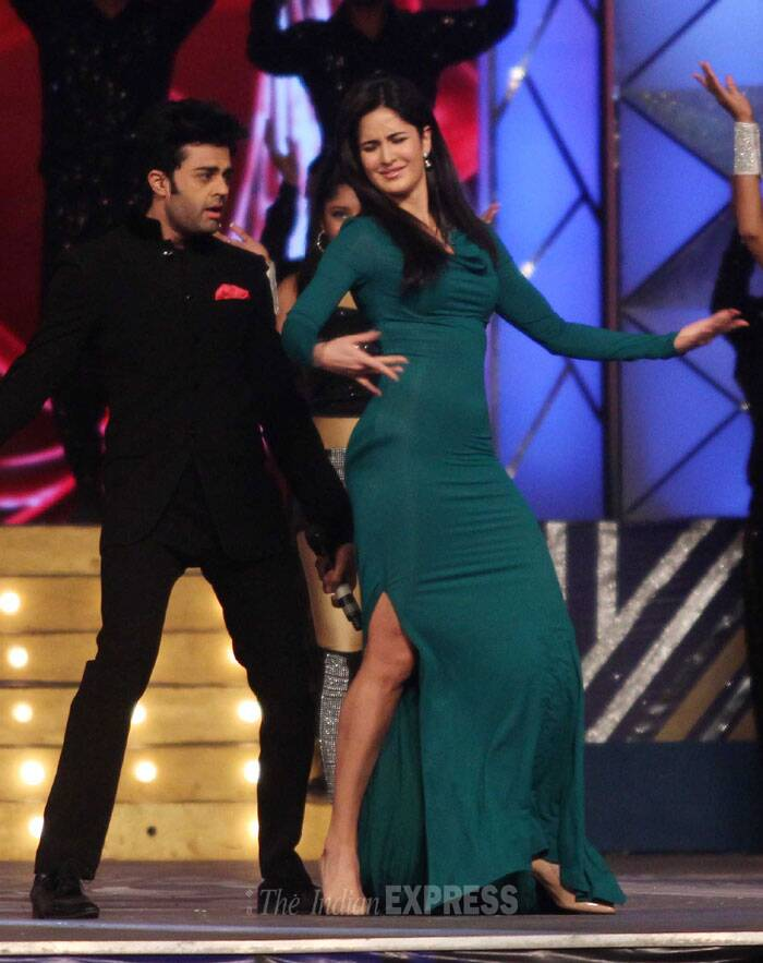 'Dhoom 3' girl Katrina Kaif shows some off her dance moves. (Photo: Varinder Chawla)