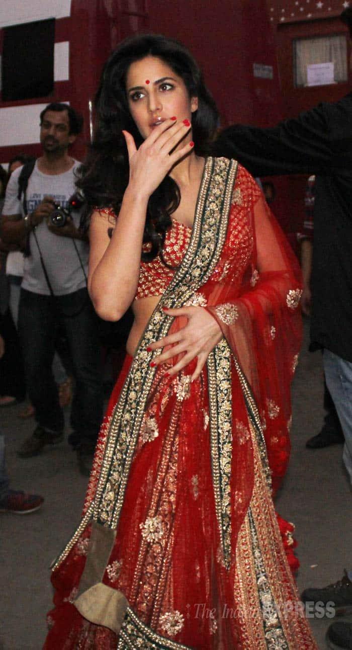 Star Spotting Former Flames Salman Khan Katrina Kaif
