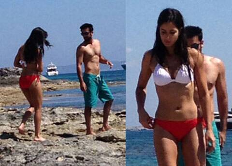 Ranbir Kapoor and Katrina Kaif's spain pics were a rage.
