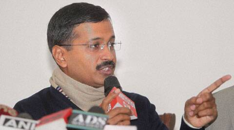 "Kejriwal said he had begun his ""civil disobedience movement"" against ""inflated"" power bills by going on a fast from March 23, 2013.  (PTI)"
