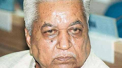 Party president  Keshubhai Patel