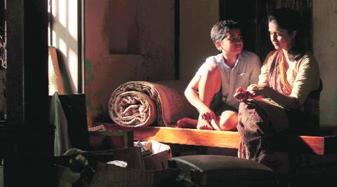 A still from Marathi feature film Killa.