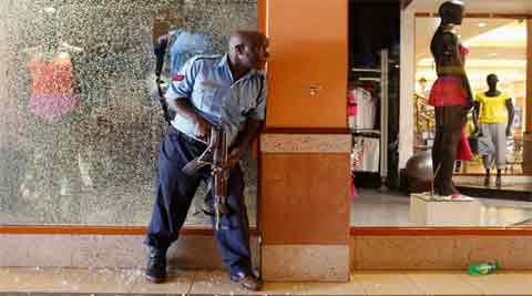 Four men charged with helping al Qaeda-linked militants launch a murderous attack on a Kenyan shopping mall appeared in court on Wednesday at the start of their trial. (Reuters)