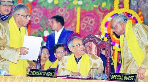 Pranab Mukherjee said that improved ability to analyse data had led to an improvement in weather forecasting systems.