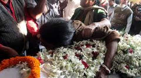 "The victim's family members, left for Patna, saying they will meet CM Nitish ""for justice""."