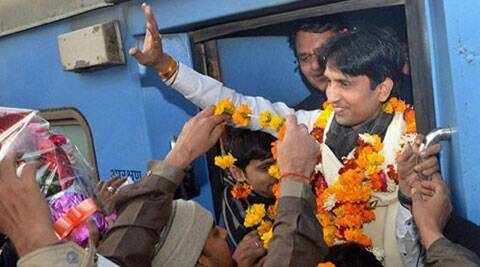 Aam Aadmi Party leader Kumar Vishwas is in Rahul Gandhi's constituency Amethi.