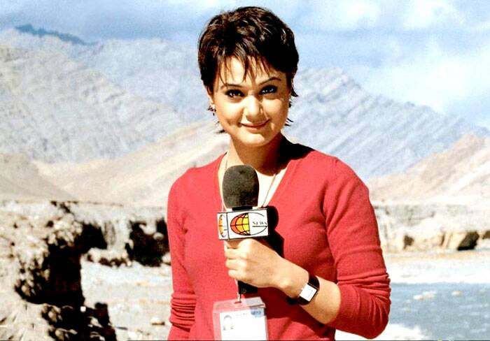 Preity Zinta went on to play a TV journalist Romila Dutta in Farhan Akhtar's war drama 'Lakshya', alongside Hrithik Roshan in 2004. The film was based on the 1999 Kargil Conflict. Preity's character was reportedly modelled after TV journalist Barkha Dutt, the only female reporter assigned to the story. The film was a critical success, yet her performance received mixed reviews.