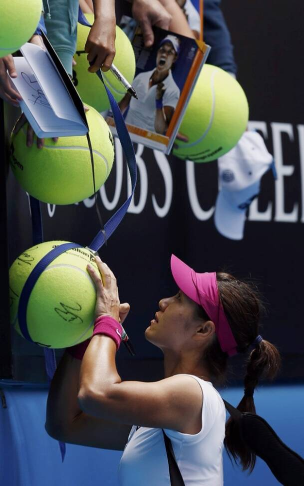 Li Na felt that victory had given her confidence she could win her first title at Melbourne Park (Reuters)