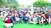 Rally during the last day of campaigning for employees elections. Gurmeet Singh