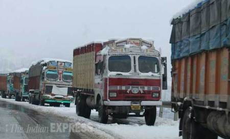 Kashmir Valley remains cut off for third day,reels under intense cold