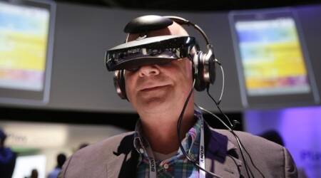 Gadget watch: Look around in Sony's virtual-reality video headset