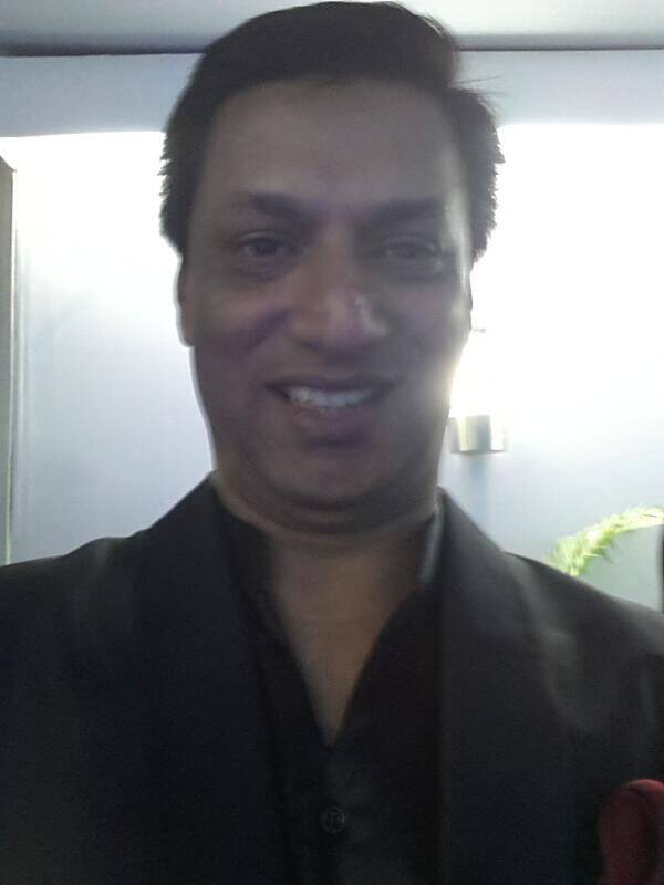 Guess who got clicked? Madhur Bhandarkar gave us a bedazzling smile for our Life OK Screen Awards selfie project!