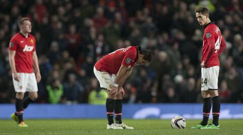 The outcome left David Moyes facing more scrutiny in his first season as Manchester United manager (AP)