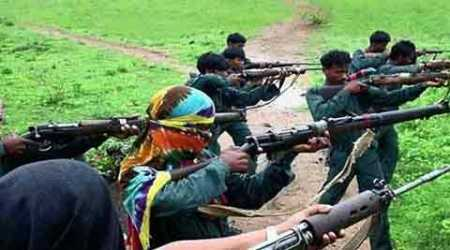 Two women Maoists surrender in Orissa