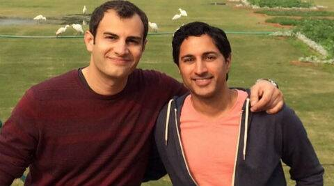 Maulik Pancholy came out as gay in the November issue of Out magazine where he discussed his relationship with Corvaia. (Photo: Twitter)