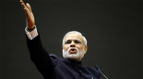 BJP's prime ministerial candidate Narendra Modi. (Reuters)