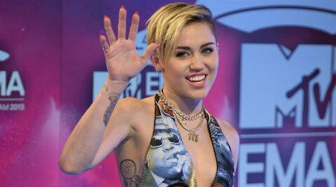 Miley Cyrus tweeted: I get called an ugly lesbian a lot more than one would think. (Reuters)
