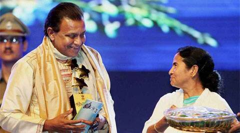 Mamata said Mithun is a well-known film personality and has devoted his life to the cause of cultural and social activities with great success.  (PTI File Photo)