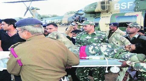 The team that came under the attack comprise a joint squad of state polices' Jaguar team and the CRPF.