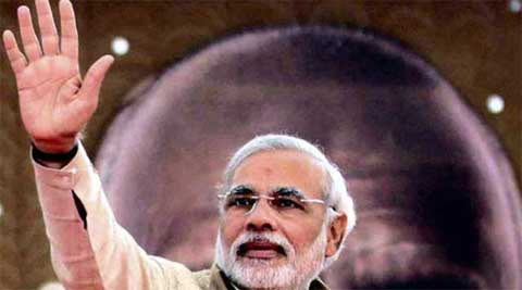 Modi will be addressing a rally of 14 Lok Sabha seats of western UP at Meerut's Shatabdi Nagar ground on February 2. (PTI)