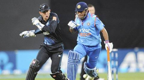 Dhoni picked up the injury during the third day of the second Test against New Zealand.