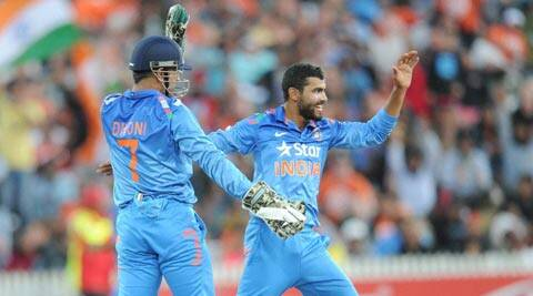 Mahendra Singh Dhoni was happy with the spinners' performance, and was livid with the seamers for a poor show (AP)